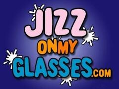 Diana Doll Facial on Glasses blowjob cumshot Thumb