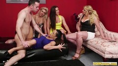 Sexy Dirty cfnm babes watch cock fucking Thumb
