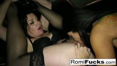 Sexy slave Romi lets master Sovereign dominating her Thumb