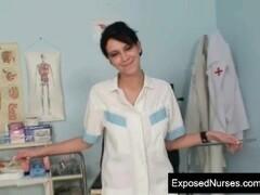 Beautiful big tits nurse internal pussy shots Thumb