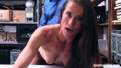 Hot Sofie Marie busted balls deep by horny mall cop Thumb