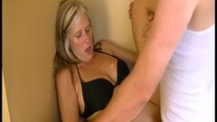 Blonde beauty cheats with the pool boy Thumb