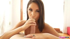 August Ames Jerking Slowly And Closely Thumb