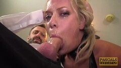 Hot Cum eating UK skank anally destroyed by rough sex Thumb