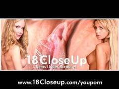 18yo Female Orgasm Close Up! Thumb