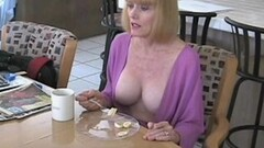 Hot MILF In The Kitchen Thumb