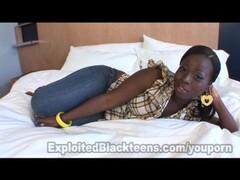Black Girl w Big Booty in Amateur Video Thumb
