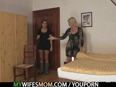 Blonde mom seduces her son in law Thumb