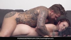CASTING FRANCAIS Amateur Canadian fucked on cam Thumb