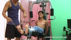 Sexy Asian Boy Argie Bound and Tickled Thumb