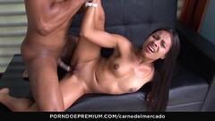 CARNE DEL MERCADO Horny Latina gonzo pickup fuck Thumb