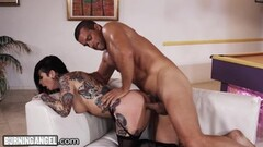 Hung Cock Pounds Joanna Angel to Jizz Explosion Thumb