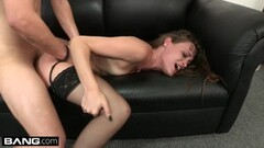 Southern babe Kacy Lane gets a load of cum to the face Thumb