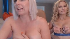 Naughty Blonde Chicks Pleasure Each Other Thumb