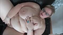 Massive BBW Gertruda Plays with Herself Thumb