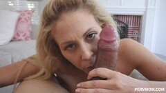 Cute MILF Cherie Deville almost caught by husband fucking stepson Thumb